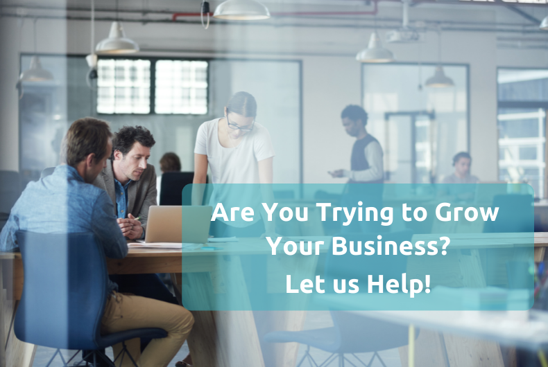 Are You Trying to Grow your Business?  Let us Help!